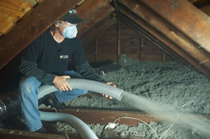Attic Insulation installed in Howell