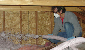 Fiberglass insulation installed New Jersey